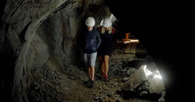 Följ med till en tidigare stängd del av Sala silvergruva