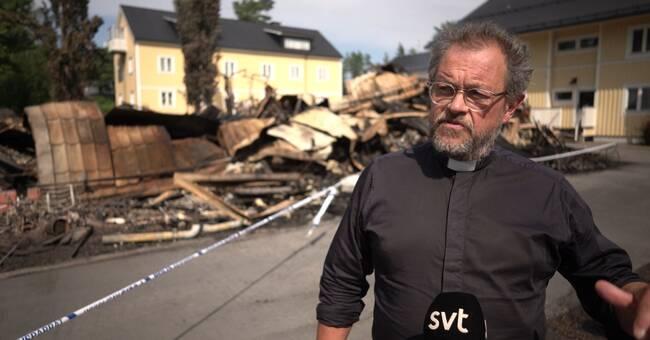 Stor vilja att hjälpa drabbade efter branden i Nordmaling