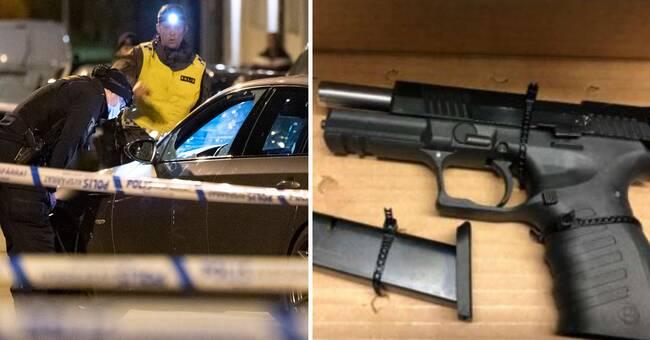 Efter våldsamma dygn i Landskrona – två åtalas för vapenbrott
