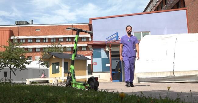Elscooterolyckor: Nytt fenomen på akuten i Karlstad