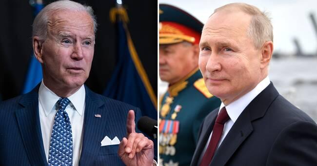 """Biden: Ryssland har """"kärnvapen och olja och inget annat"""""""
