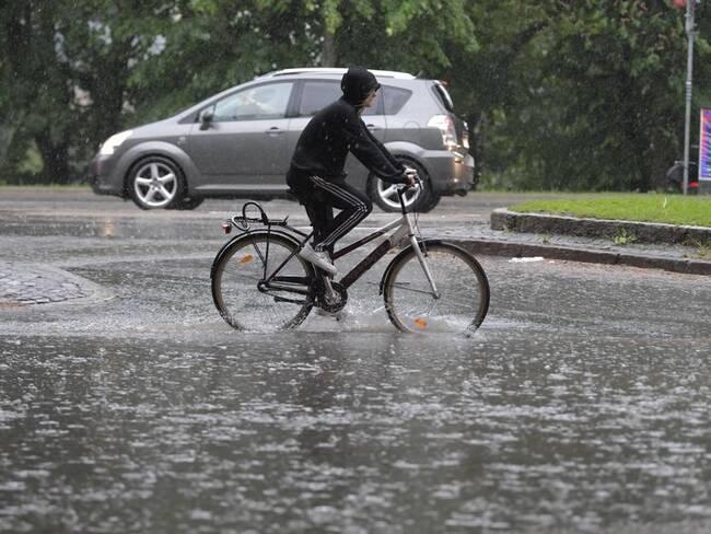 Stora regnmängder väntas i Dalarna under torsdagseftermiddagen