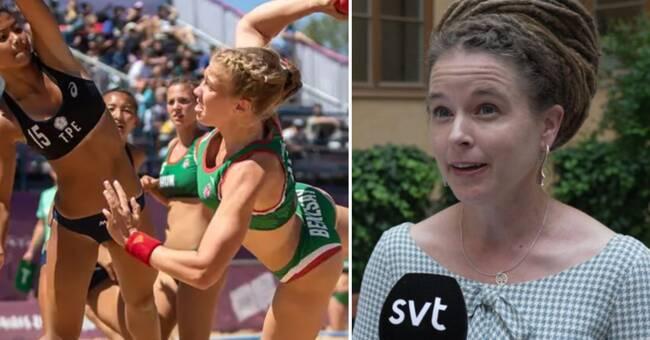 """Svenska ministern rasar över bikinitvånget: """"Jag blir provocerad"""""""