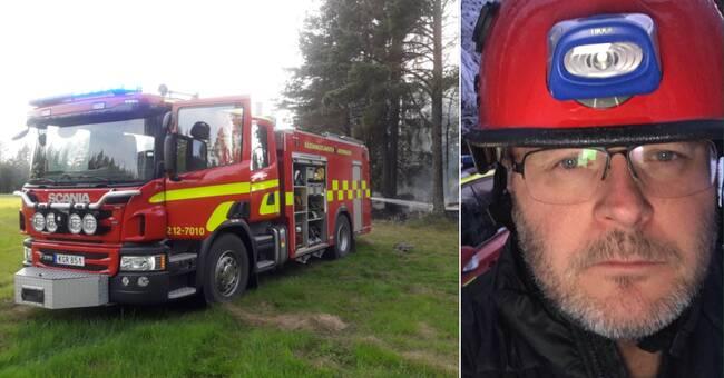 """Räddningschefen i Lycksele: """"Lite lugnare med bränderna nu"""""""