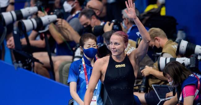 Sjöström imponerade – vidare till OS-semi