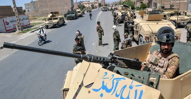 Upptrappat läge i Afghanistan – talibanerna flyttar fram positioner