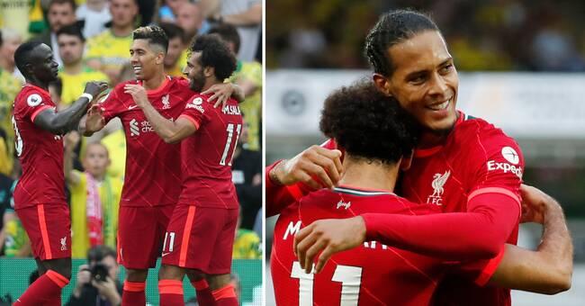Liverpool vann med van Dijk i startelvan