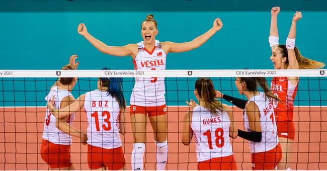 Finland förlorade mot Turkiet i volleyboll-EM