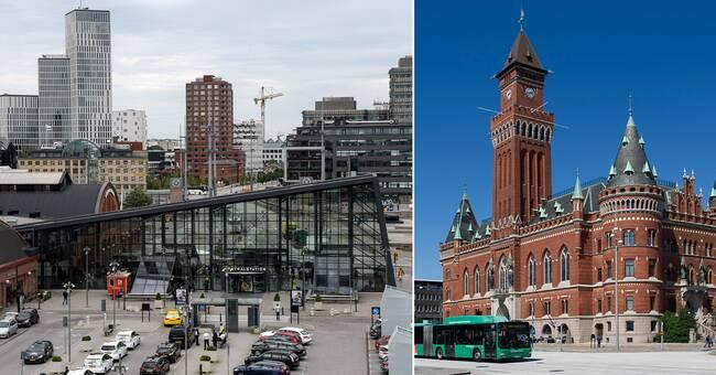 Helsingborgs stad öppnar filial – i Malmö