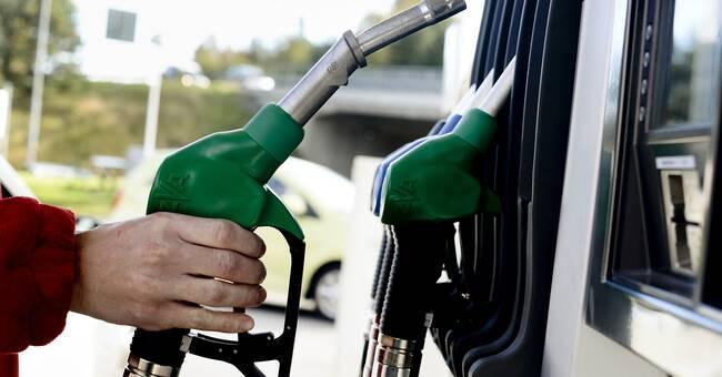 Redan rekordhöga bränslepriser nu ännu dyrare