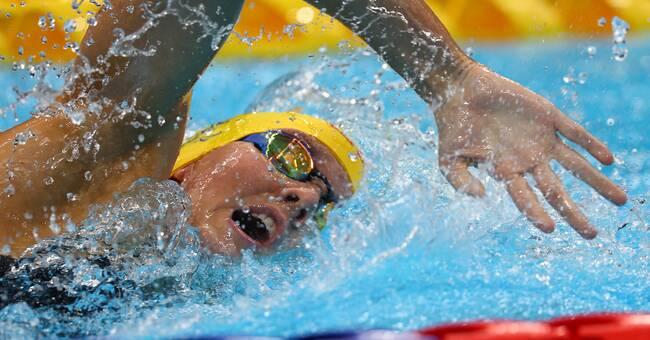 Pernilla Lindberg simmade sig till final