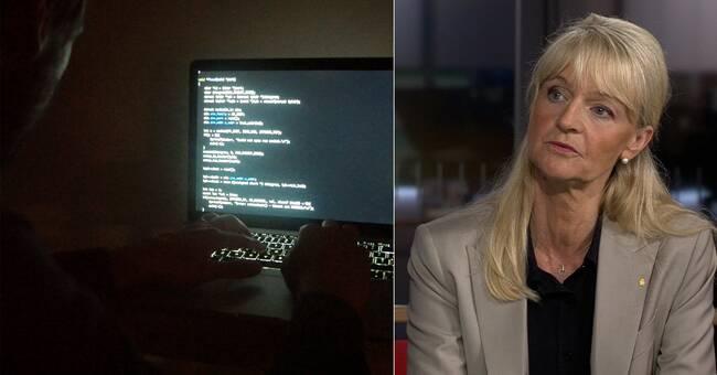 """Nya Säpochefen Charlotte von Essen: """"Hoten har ökat i Sverige"""""""