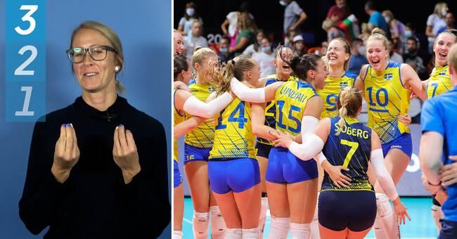 """Expertens höjdpunkter från volleyboll-EM: """"Jag blir känslosam"""""""