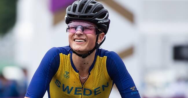 Jenny Rissveds tog hem sprinten i världscupen