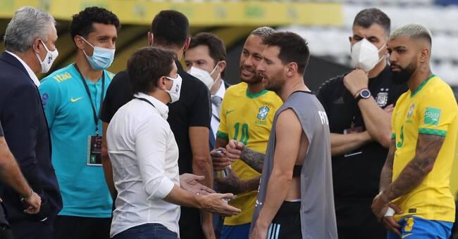 "Myndighetschefen: ""Vi ville inte stoppa matchen"""