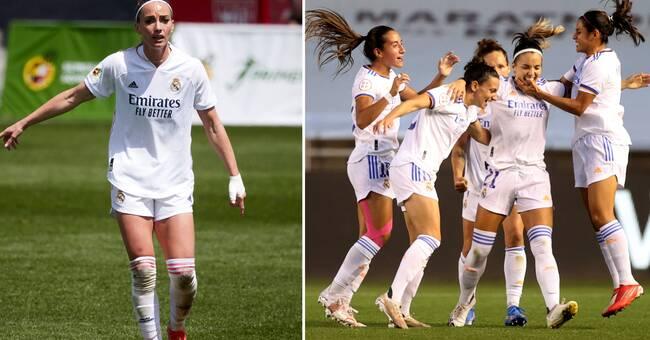 Inhopp av Kosovare Asllani när Real Madrid gick till CL-gruppspel