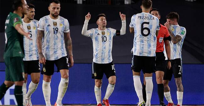 Messi är nu Sydamerikas främste målskytt