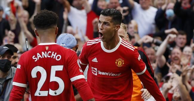 Cristiano Ronaldo glittrade i återkomsten