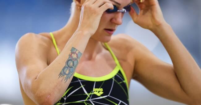 Sjöström tvåa i comebacken – besegrade OS-mästaren