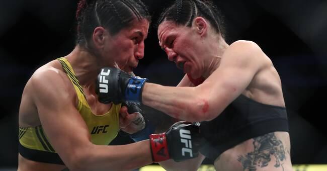 Svenska Pannie Kianzad förlorade UFC-möte i Vegas