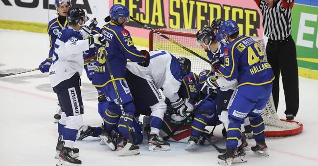 Tre Kronor avslutar OS-gruppspelet med Finland