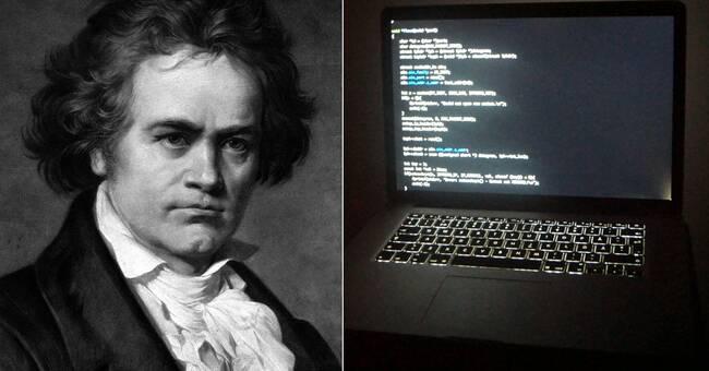 Experterna ratar AI-robotens Beethoven-symfoni
