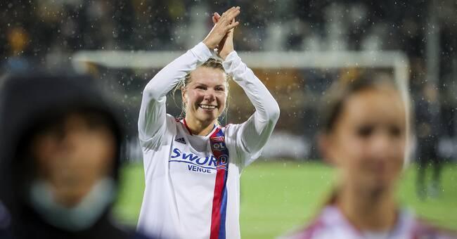 """Hegerberg om comebacken: """"Känner mig som ett litet barn igen"""""""