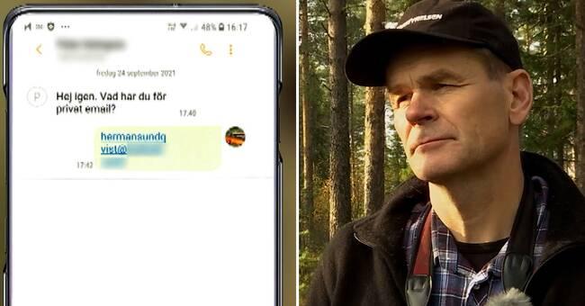 Generaldirektören raderade hemlig mejlkorrespondens
