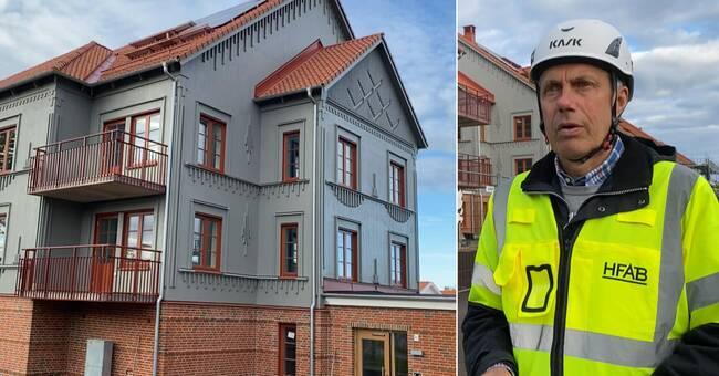 Se de uppmärksammade nybyggda husen i Harplinge