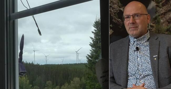 """Ragundas kommunalråd om den stoppade vindkraftsutbyggnaden: """"Vi har byggt nog här i Norrland"""""""