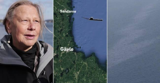 Tankfartygets talloljeutsläpp utanför Söderhamn stort som 315 fotbollsplaner – var lagligt