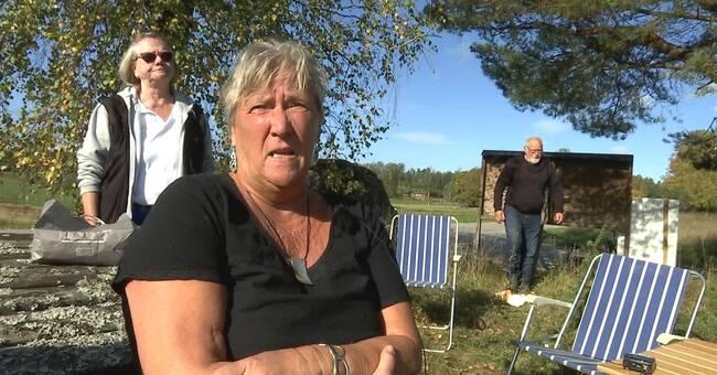 Protesterna växer mot vindkraftsplanerna i Finspång
