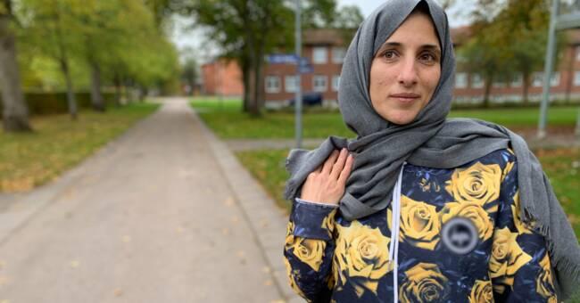 Asmaa hoppade ut genom fönstret när det började brinna på asylboendet