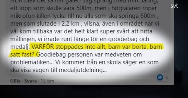 """Hård kritik mot arrangörerna till barnloppet """"Kalvruset"""""""