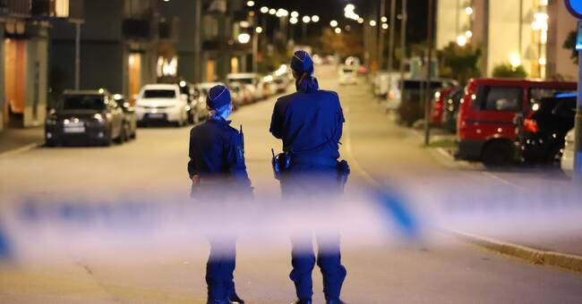 Misstänkt handgranat i södra Stockholm