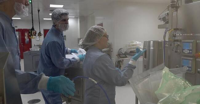 Fabrik i Matfors blir spjutspets för vaccinproduktion
