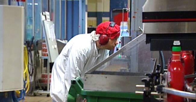 Ketchupmaskin trasig i veckor – produktionen påverkad