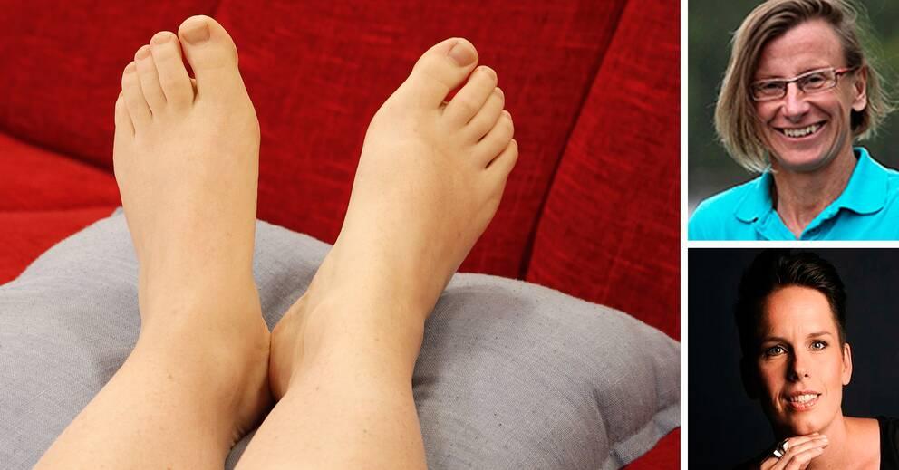 tips för ömma fötter