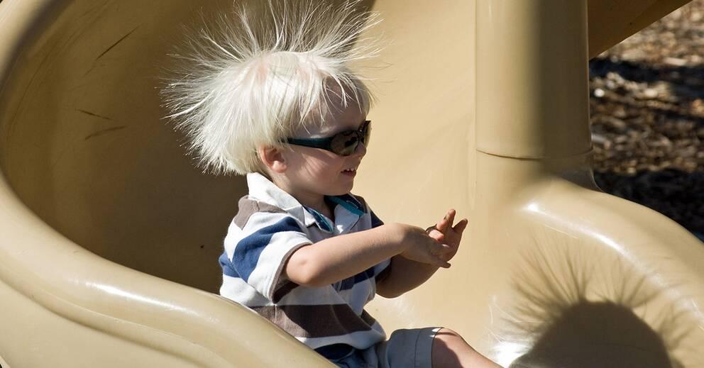 flygigt elektriskt hår