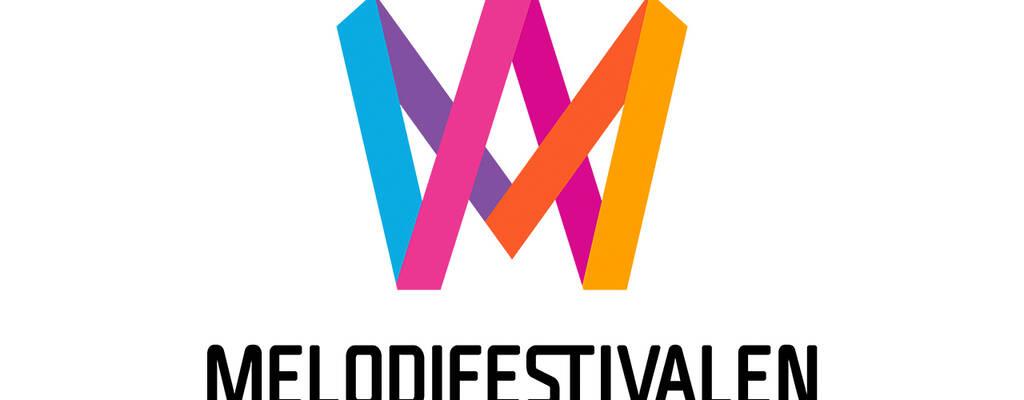 Melodifestivalens logotyp.