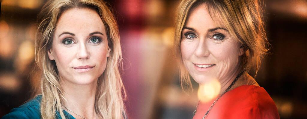 Sofia Helin och Anne Lundberg