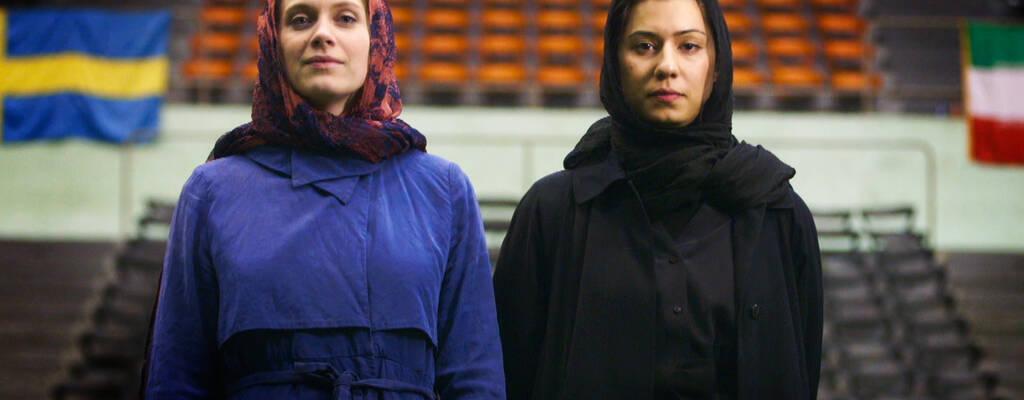 Anna Tascha Larsson och Farvash Razavi.