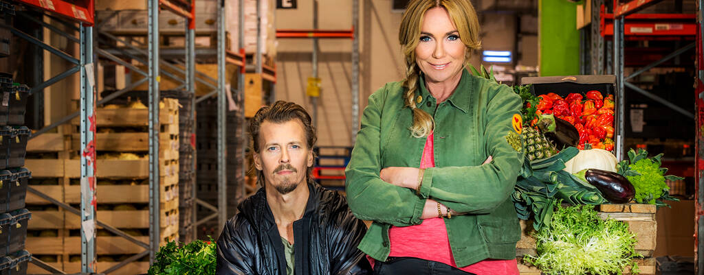 Anne Lundberg och Paul Svensson i Maträddarna