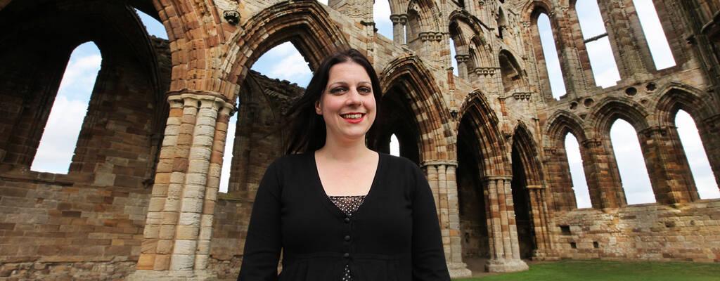 Janina Ramirez, Whitby Abbey