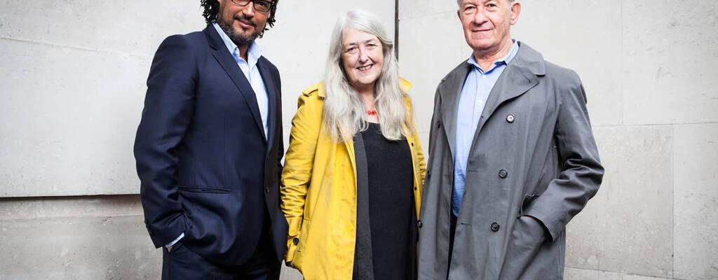 Simon Schama, Mary Beard och David Olusoga.