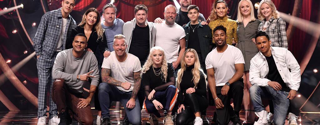 Finalisterna i Melodifestivalen 2019.