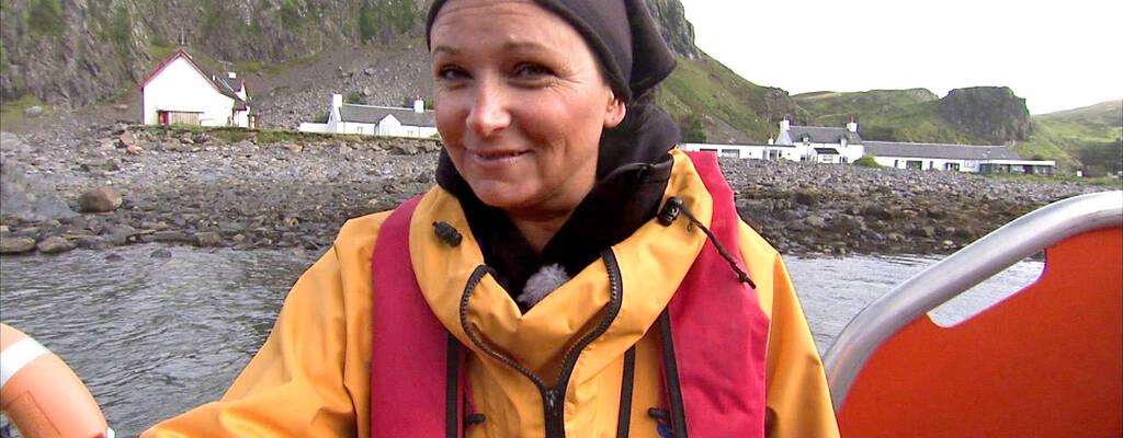 Anja Kontor reser i Skottland