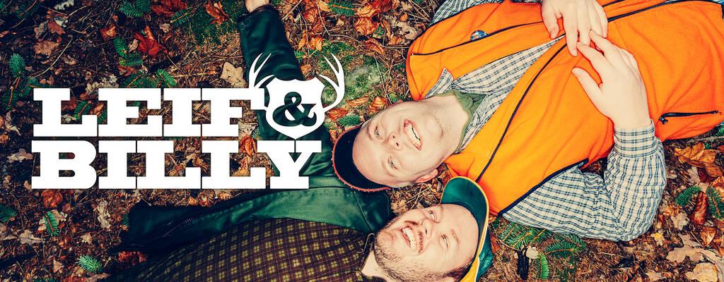Leif (Klas Eriksson) och Billy (Alfred Svensson).