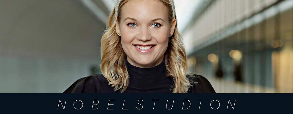Emma Frans leder Nobelstudion 2019.