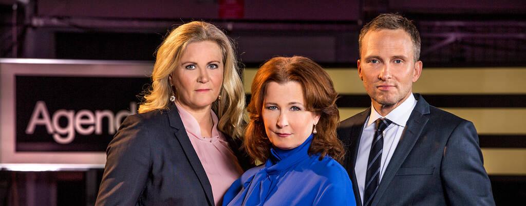 Agenda - Camilla Kvartoft, Anna Hedenmo och Anders Holmber